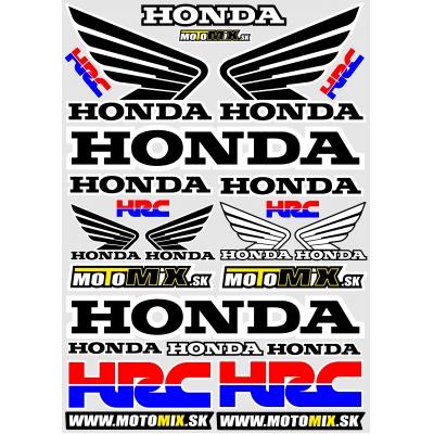 Nálepky Honda 2 A3