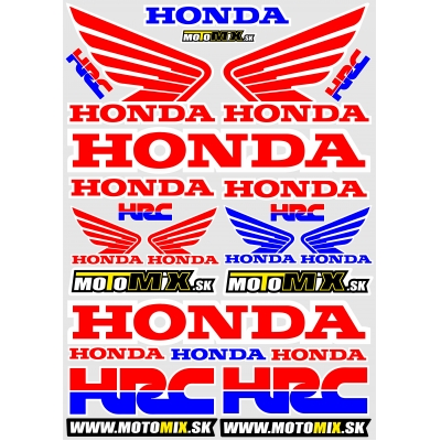 Nálepky Honda 4 A3