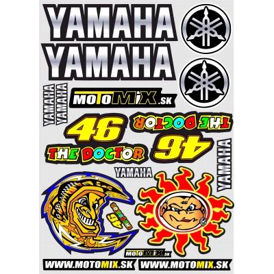 Nálepky Yamaha 46 A3