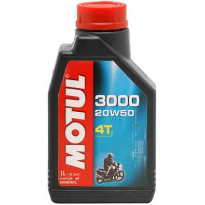 Motul 3000 4T 20W-50 1L, do motorky