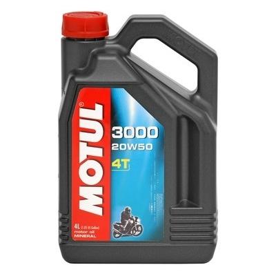 Motul 3000 4T 20W-50 4L, do motorky