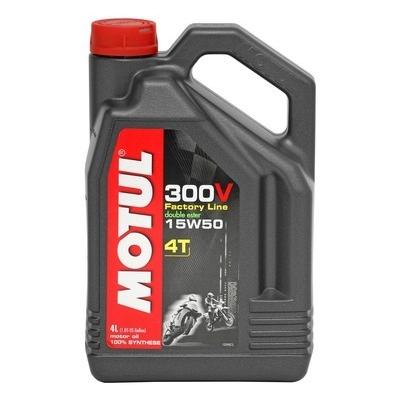 Motul 300V FACTORY LINE 15W-50 4T 4L, do motorky