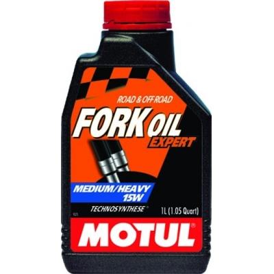 Motul tlmičový olej FORK OIL Expert medium/heavy 15W 1L, do motorky