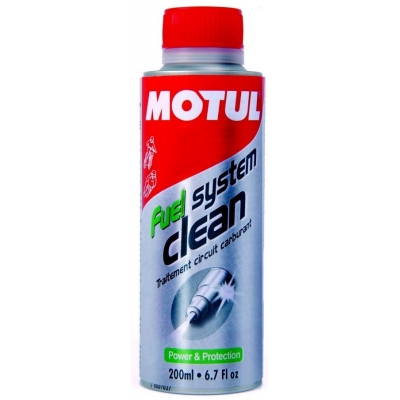 Motul Fuel System Clean Moto, na motorku