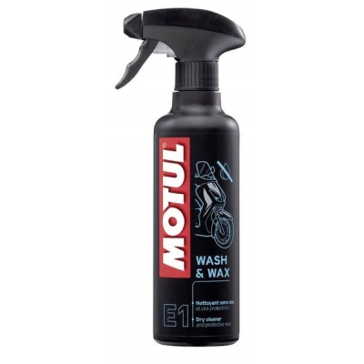Motul E1 Wash & Wax 400ml, na motorku