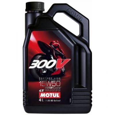 Olej Motul 300V FACTORY LINE 15W-50 4T 4L