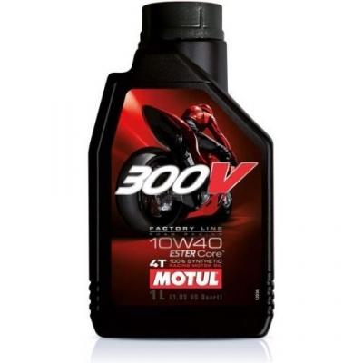 Olej Motul 300V FACTORY LINE 10W-40 4T 1L