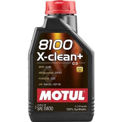 Olej MOTUL 8100X-CLEAN 5W30 1L
