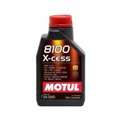 Olej MOTUL 8100X-CESS 5W40 1L