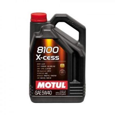 Olej MOTUL 8100X-CESS 5W40, 5L