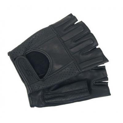 Cestné rukavice bez prstov Akito Shorty čierne