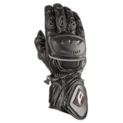 Cestné rukavice na motorku Akito SportMAX čierne