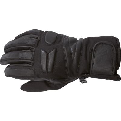 Cestné rukavice na motorku Akito EASY čierne