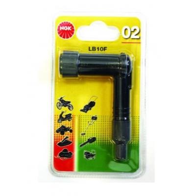Fajka na sviečku - NGK 14mm 90° LB10F-B1