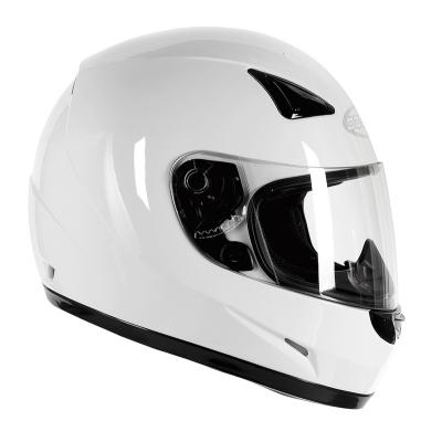 Prilba Ozone A951 Solid biela, na motorku