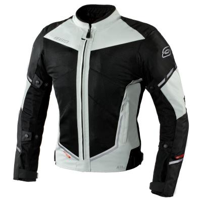 Textilná bunda Ozone JET II čierno/sivá