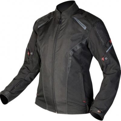 Textilná bunda Ozone Edge Evo - čierna