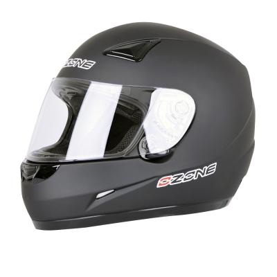 Prilba Ozone A951 Solid čierna matná, na motorku