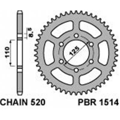 Rozeta PBR 1514 43z.