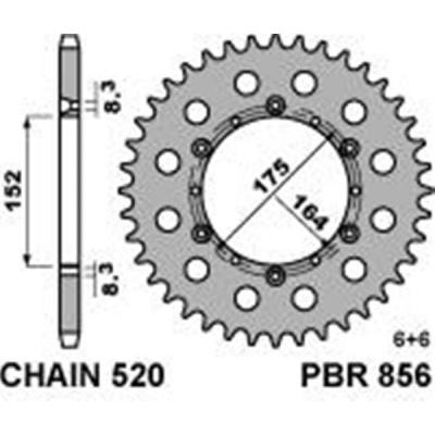 Rozeta PBR 856 49z.