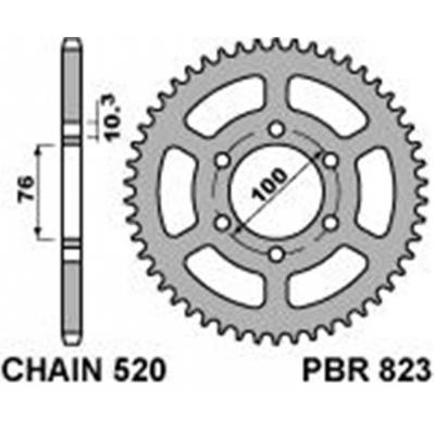 Rozeta PBR 823 48z.