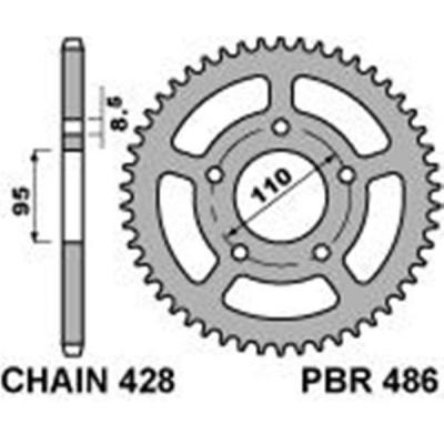 Rozeta PBR 486 50z.