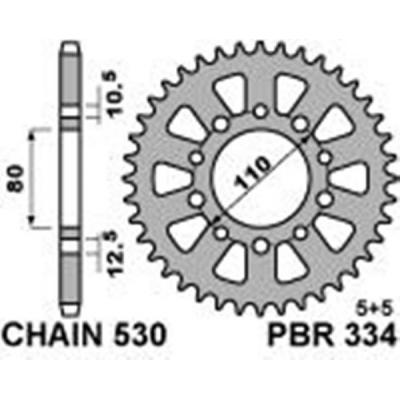 Rozeta PBR 334 43z.