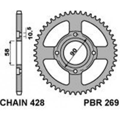 Rozeta PBR 269 56z.