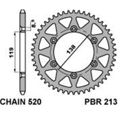 Rozeta PBR 213 48z.