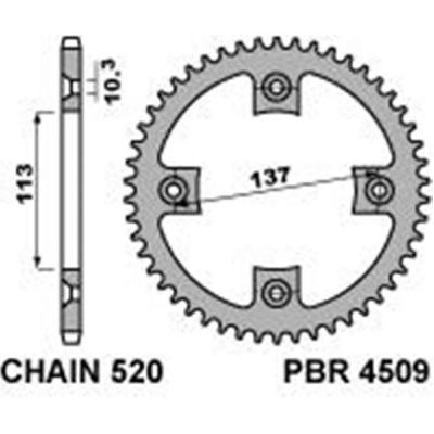 Rozeta PBR 4509 36z