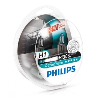 Žiarovka H1 12V 55W sada 2ks - Philips x-treme vision