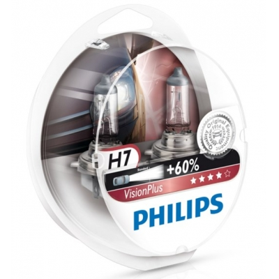Žiarovka H7 12V 55W sada 2ks - Philips vision plus