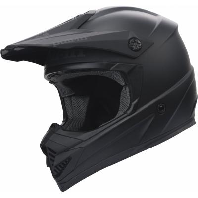 Prilba PULL IN matná čierna, na motorku