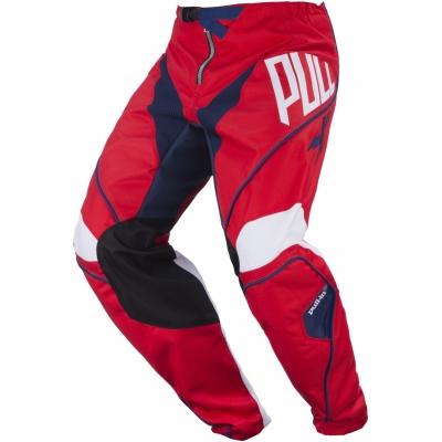 Nohavice PULL IN Challenger červeno-modré