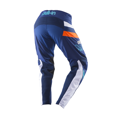 Nohavice PULL IN Challenger 2019 - modro oranžové
