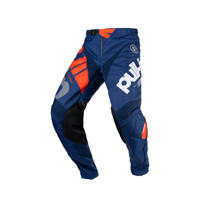 Nohavice PULL IN Challenger 2021,oranžovo-modré