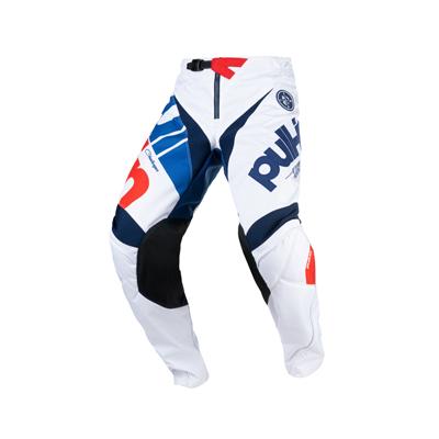 Detské nohavice PULL IN Challenger 2021,bielo-červené