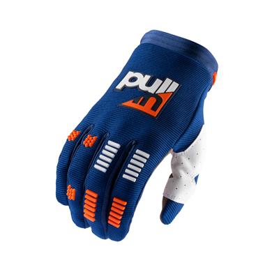 Rukavice PULL IN Challenger 2021,modro-oranžové