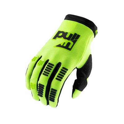 Detské rukavice PULL IN Challenger 2021,limetkovo-zelené
