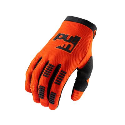 Detské rukavice PULL IN Challenger 2021,oranžovo-neónové