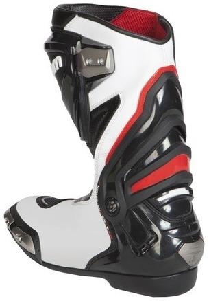 4a2e98857d78c Kožené čižmy Rebelhorn Rival čierno-biele, na motorku | MOTOMIX