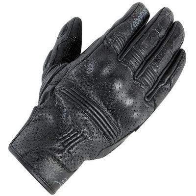 Kožené rukavice Rebelhorn Thug PRO perforované, na motorku