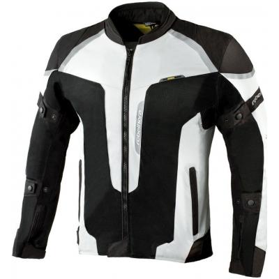 Textílna bunda Rebelhorn Hiflow III siva, na motorku