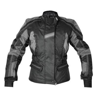 Textilná bunda Rebelhorn Glam Lady čierno siva, na motorku