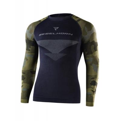 Termoaktívne tričko Rebelhorn Freeze camo - pánske