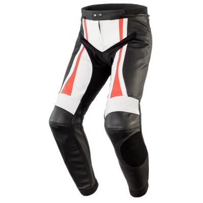 Kožené nohavice Rebelhorn Piston II Pro červené