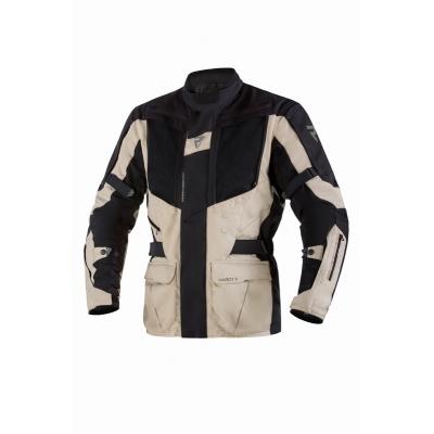 Textilná bunda Rebelhorn Hardy II - čierno piesková