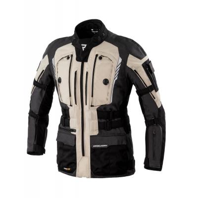 Textilná bunda Rebelhorn Patrol - čierno piesková