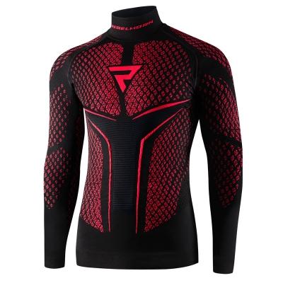 Termo tričko THERM II, červeno- čierne