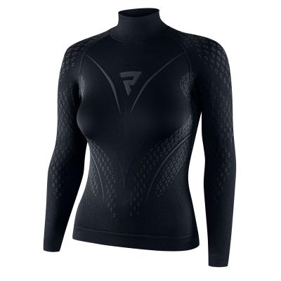 Termo tričko THERM II, dámske, sivo- čierne
